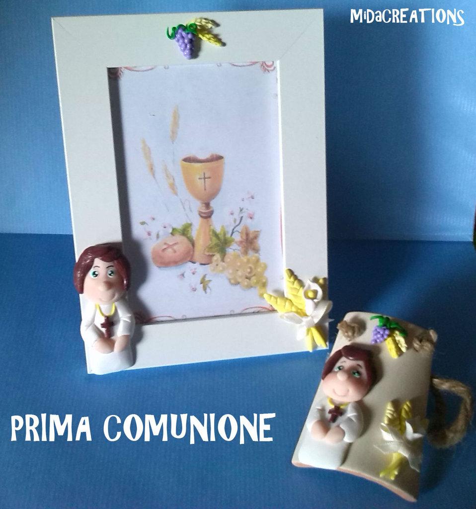 Cornice ,,PRIMA COMUNIONE,, fatto a mano