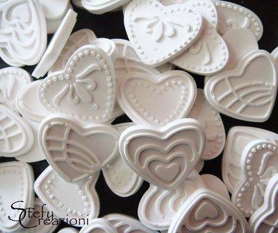 Cuoricini Polvere di Ceramica