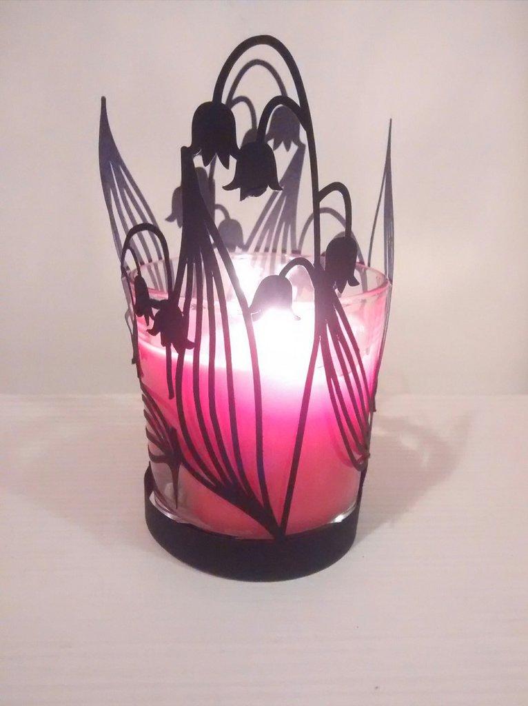 Porta candele tulipani