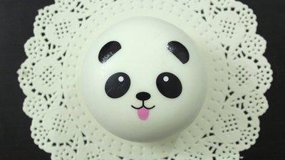 Squishy Panda grande con linguaccia