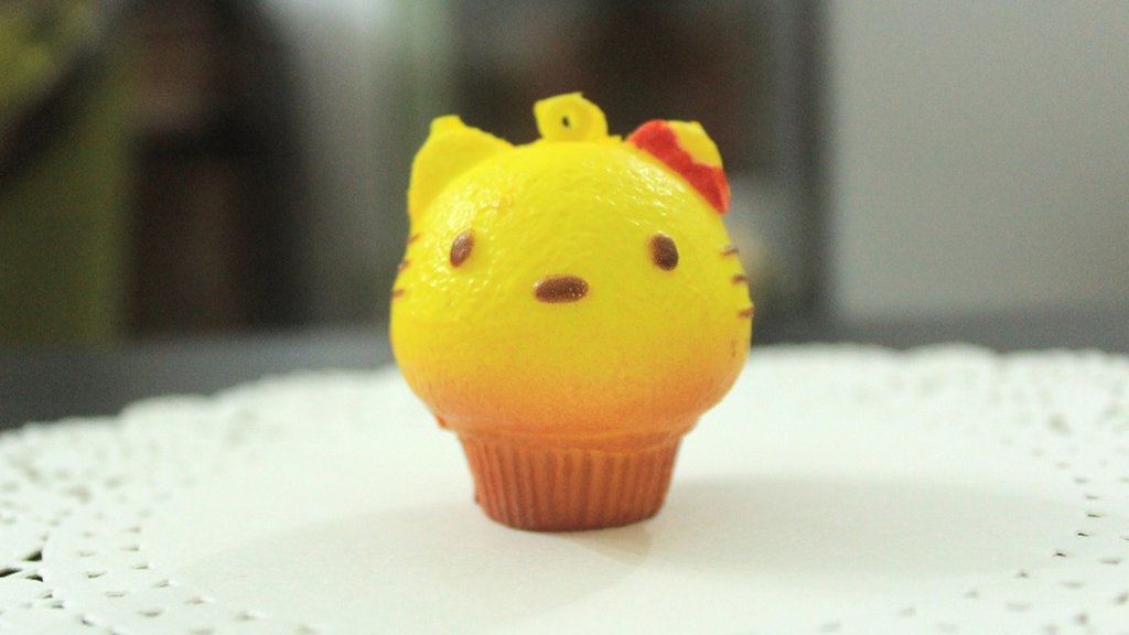 Squishy CupCake tipo Hello Kitty