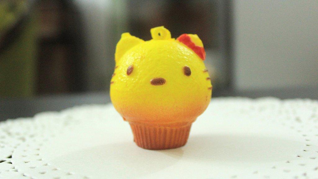 Squishy CupCake tipo Hello Kitty