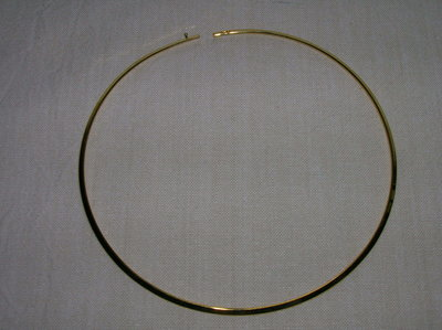Collana rigida mm.3,3 ORO