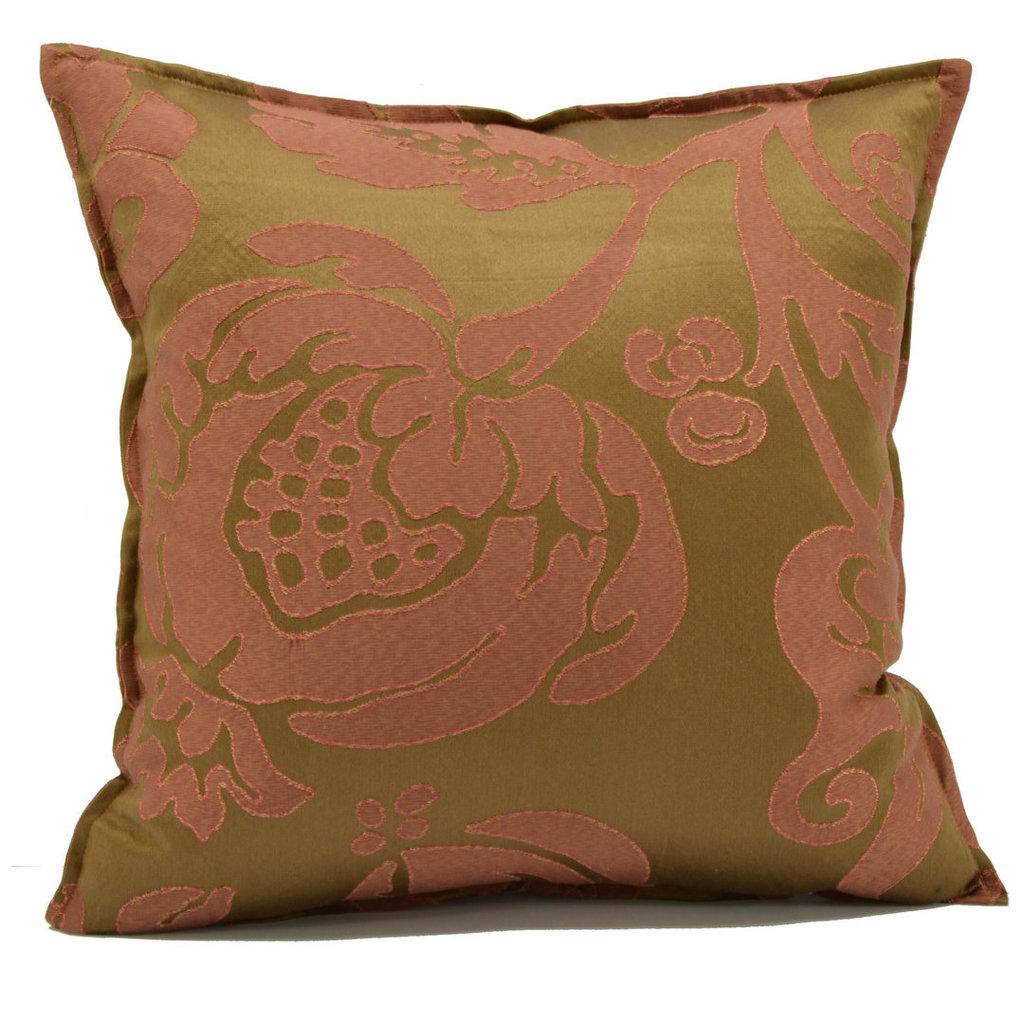 Cuscino damasco in seta