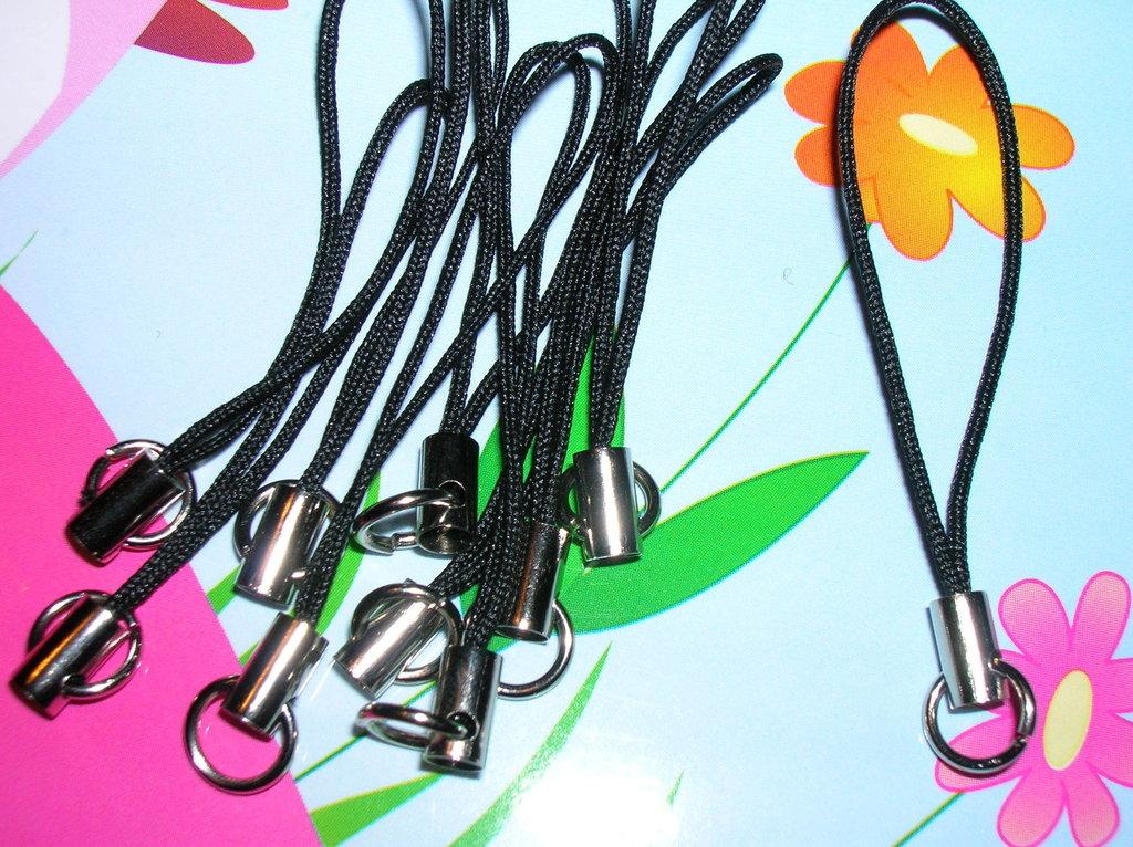 Phone-strap nero