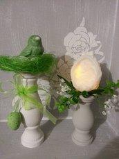 Candeliere Porta uovo di Pasqua - Alto 11 cm