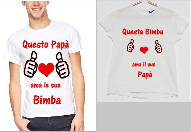 Magliette padre & figlia