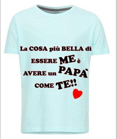 Maglietta bimbo festa del papà