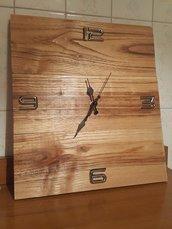 Orologio in legno fatto a mano HobbyWatch 🕗