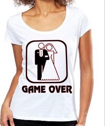 Maglietta game over lei