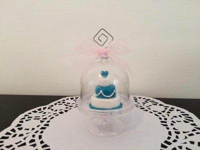 Bomboniera/segnaposto mini wedding cake