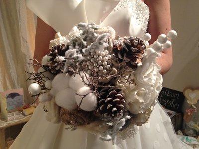 Bouquet gioiello invernale