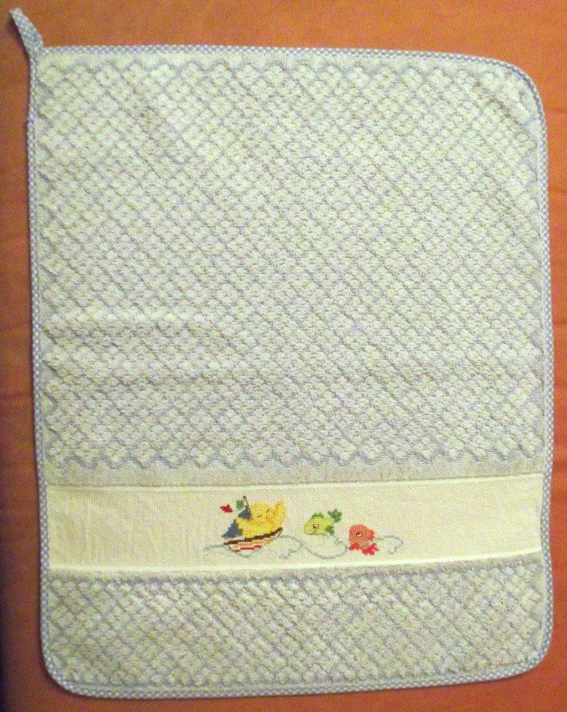 asciugamano asilo spugna