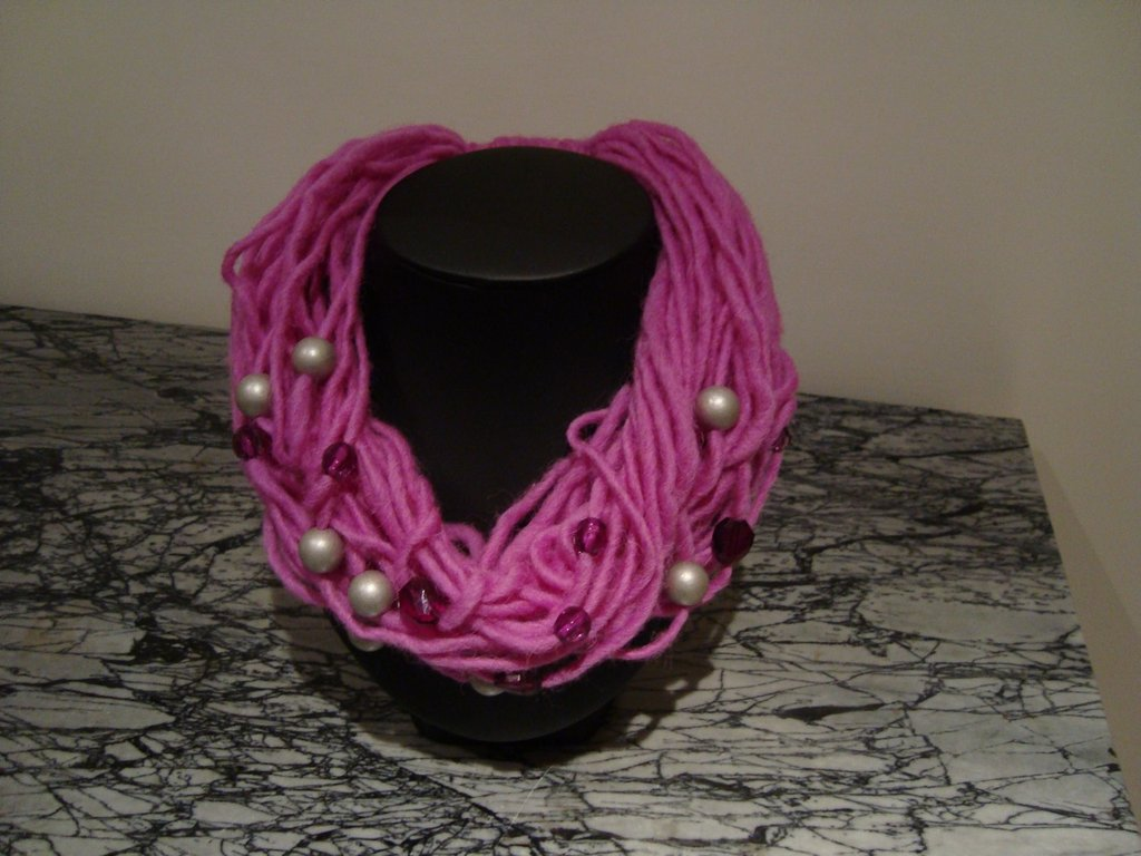 Necklace - scarf 4