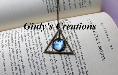 Collana dei Doni della Morte con Incanto Patronus di HARRY POTTER Cerva HP saga