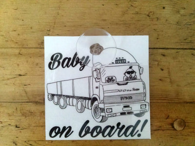 targhetta per auto - baby on board