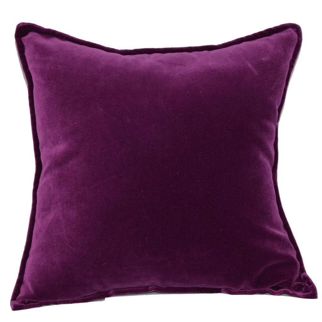 Cuscino di velluto in seta