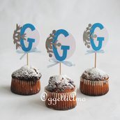 20 Cupcake toppers per la sua festa di compleanno a tema Frozen!