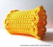 """Pattern - spiegazione per PORTATOVAGLIOLO """"clean & simple"""" a uncinetto crochet (idea regali di Natale)"""