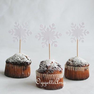 40 cristalli di neve per la sua festa di compleanno a tema Frozen