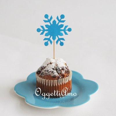 40 decorazioni in carta per la sua festa di compleanno a tema Frozen