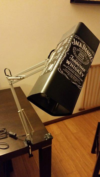 Lampada da tavolo Jack Daniels