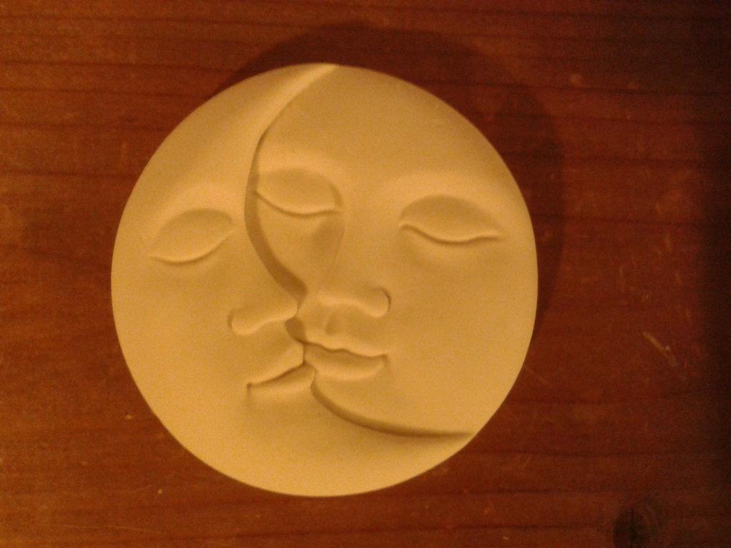 Stampo Sole Luna semplice