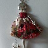 Le bamboline del cuore (collana con bambolina)