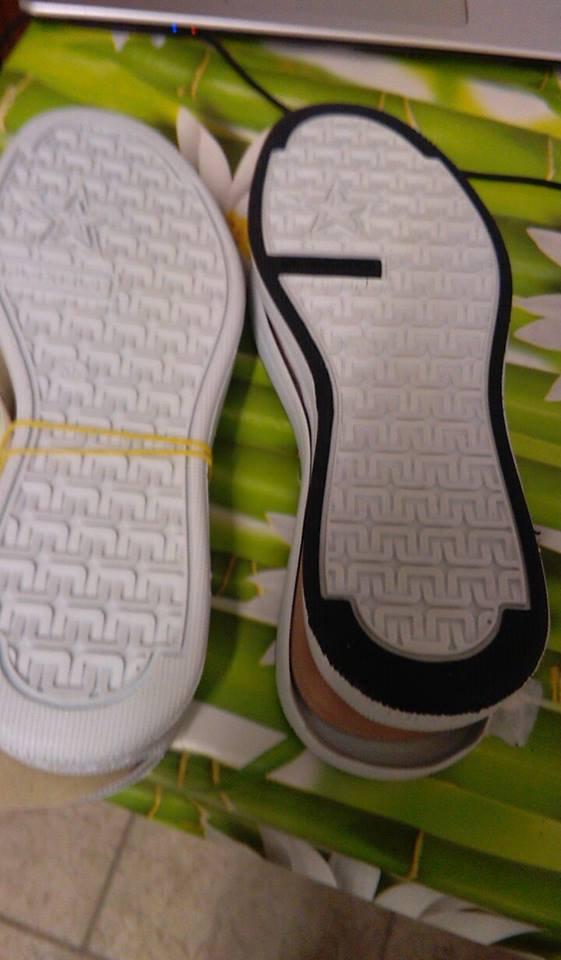 suola per scarpe all uncinetto n 35