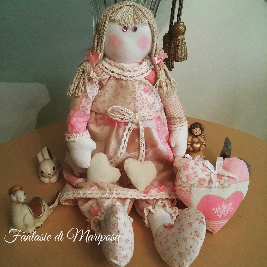Bambola di stoffa - Idea regalo