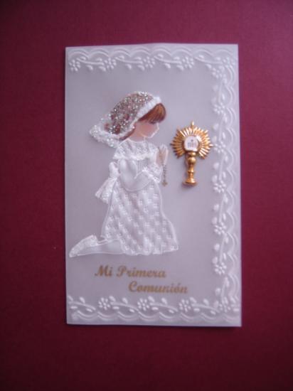Souvenirs/Cartoline Della 1° Comunione/Battesimo