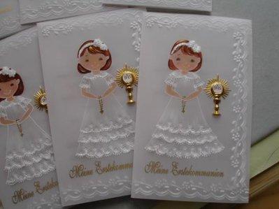 Souvenirs/Cartoline Della 1° Comunione / battesimo