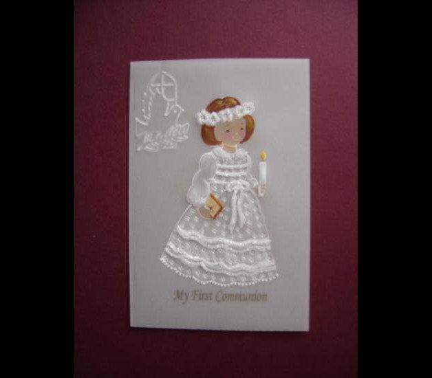 Souvenirs/Cartoline Della 1° Comunione/ battesimo