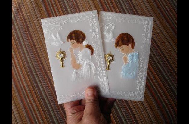 Souvenirs/Cartoline Della 1° Comunione/Cresima