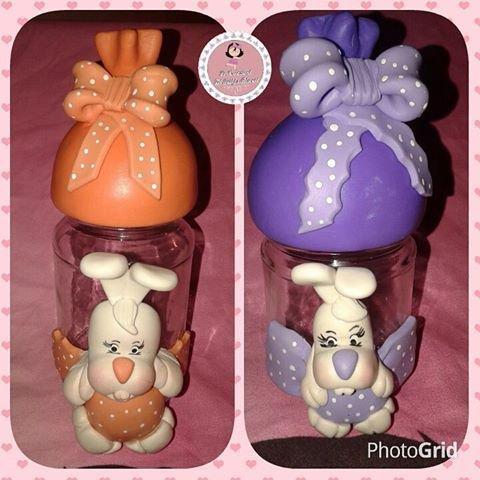 barattoli coniglietto porta cioccolatini