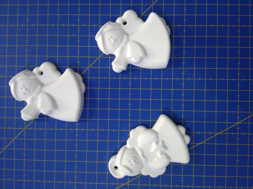 Gessetti bianchi in polvere di ceramica