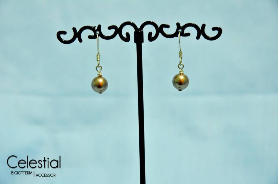 Orecchini perle - Bronze