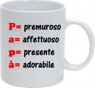 Tazza SPECIALE FESTA DEL PAPA'