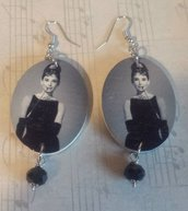 "Orecchini  ""Audrey Hepburn"""