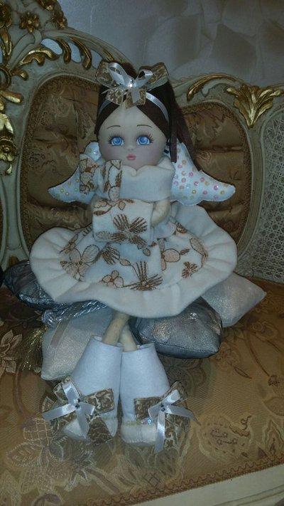 Bambola angelo chiara