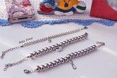 Bracciale moda con sfere con charm personalizzabili – bracciali handmade