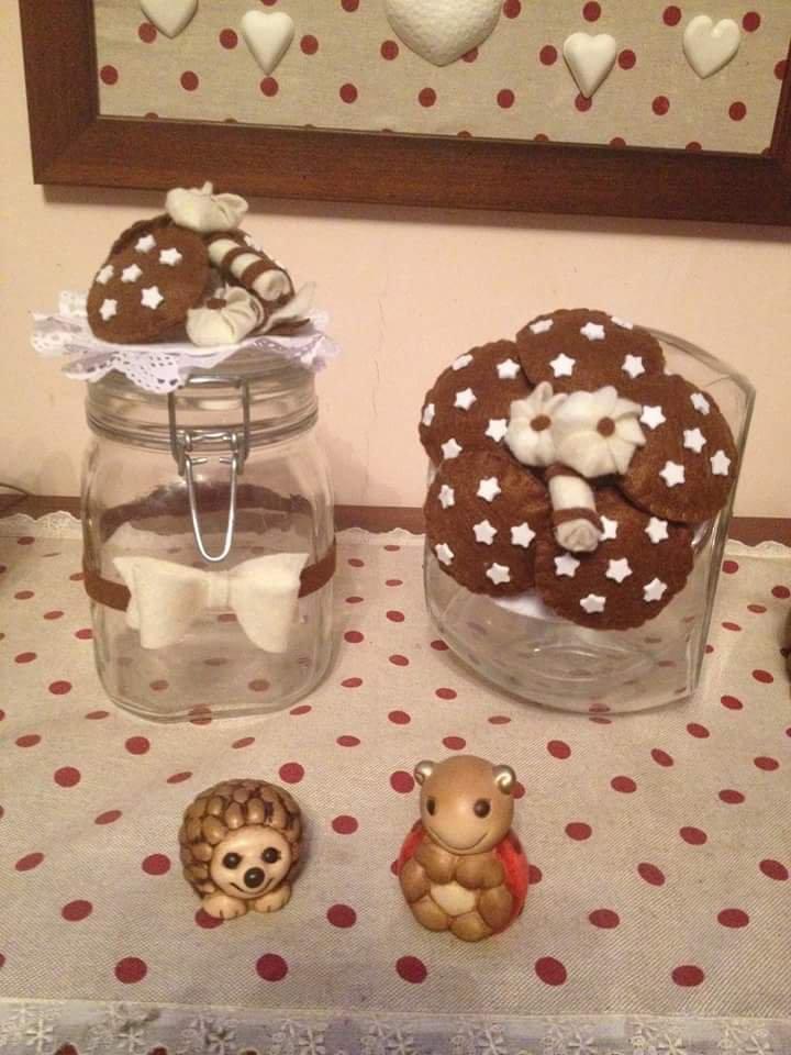 barattoli porta biscotti