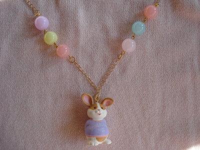 Collana con coniglietto
