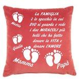 federa cuscino famiglia
