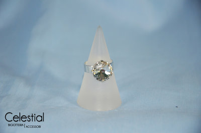 Anello Rivoli - Crystal