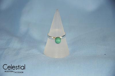 Anello perla - Jade