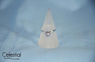 Anello perla - Provence Lavander