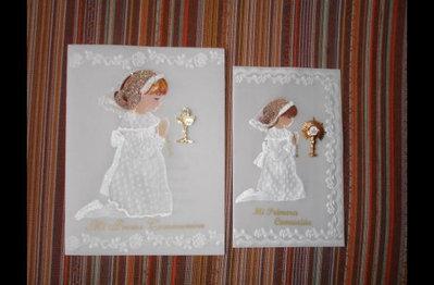 Souvenirs/Cartoline Della 1° Comunione