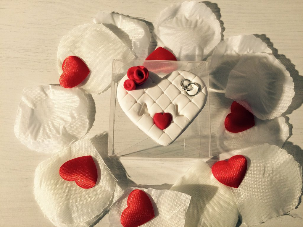 Bomboniera matrimonio cuore