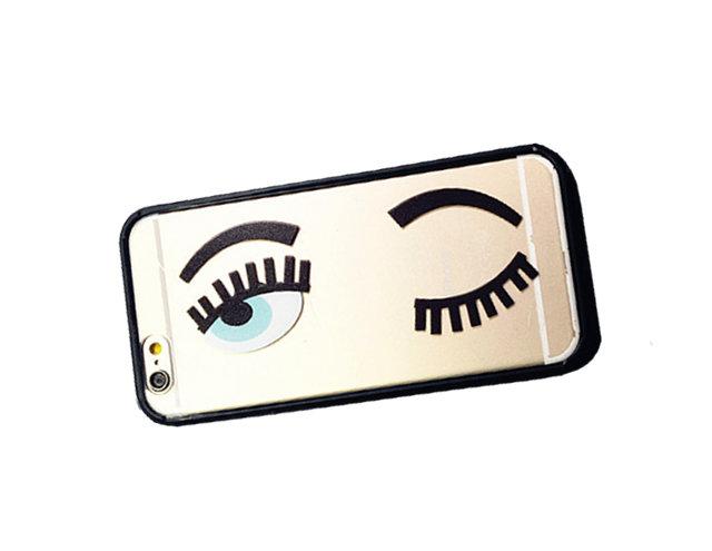 Cover trasparente occhi iphone 6- PEZZO UNICO!